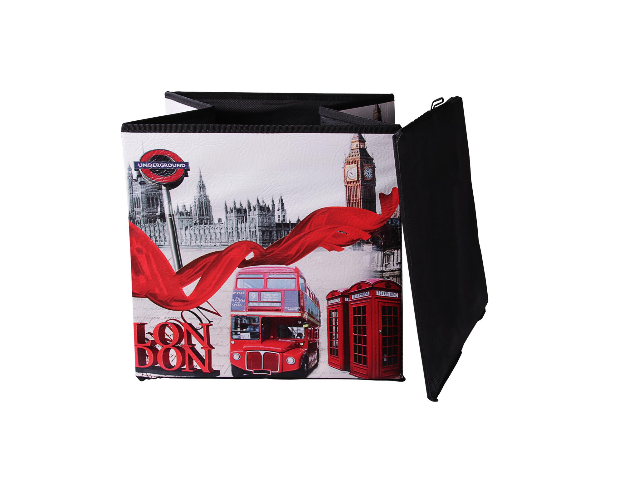 Ondis24 polsterhocker london big ben sitzhocker mit for Sitzhocker mit stauraum