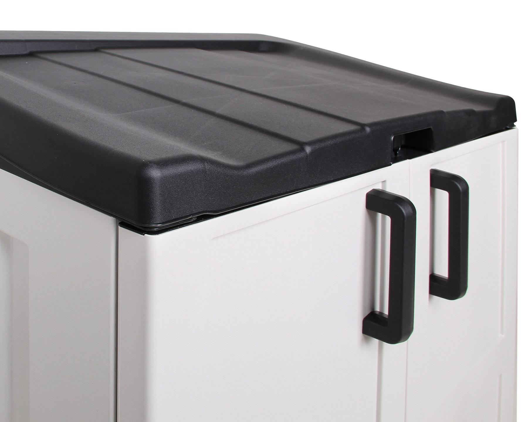 ondis24 m lltonnenbox ger teschuppen comfort xl recycling. Black Bedroom Furniture Sets. Home Design Ideas