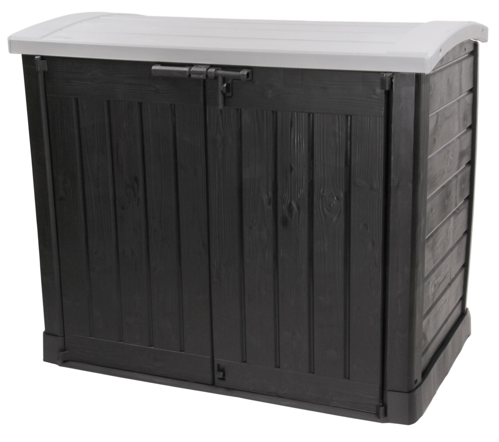 ondis24 keter mulltonnebox gerateschuppen gartenbox arc With französischer balkon mit keter garten