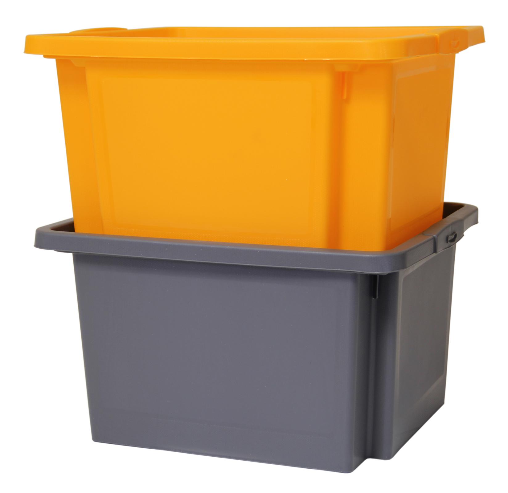 Ondis24 dreh und stapelbox h grau g nstig online kaufen - Stapelboxen kinderzimmer ...