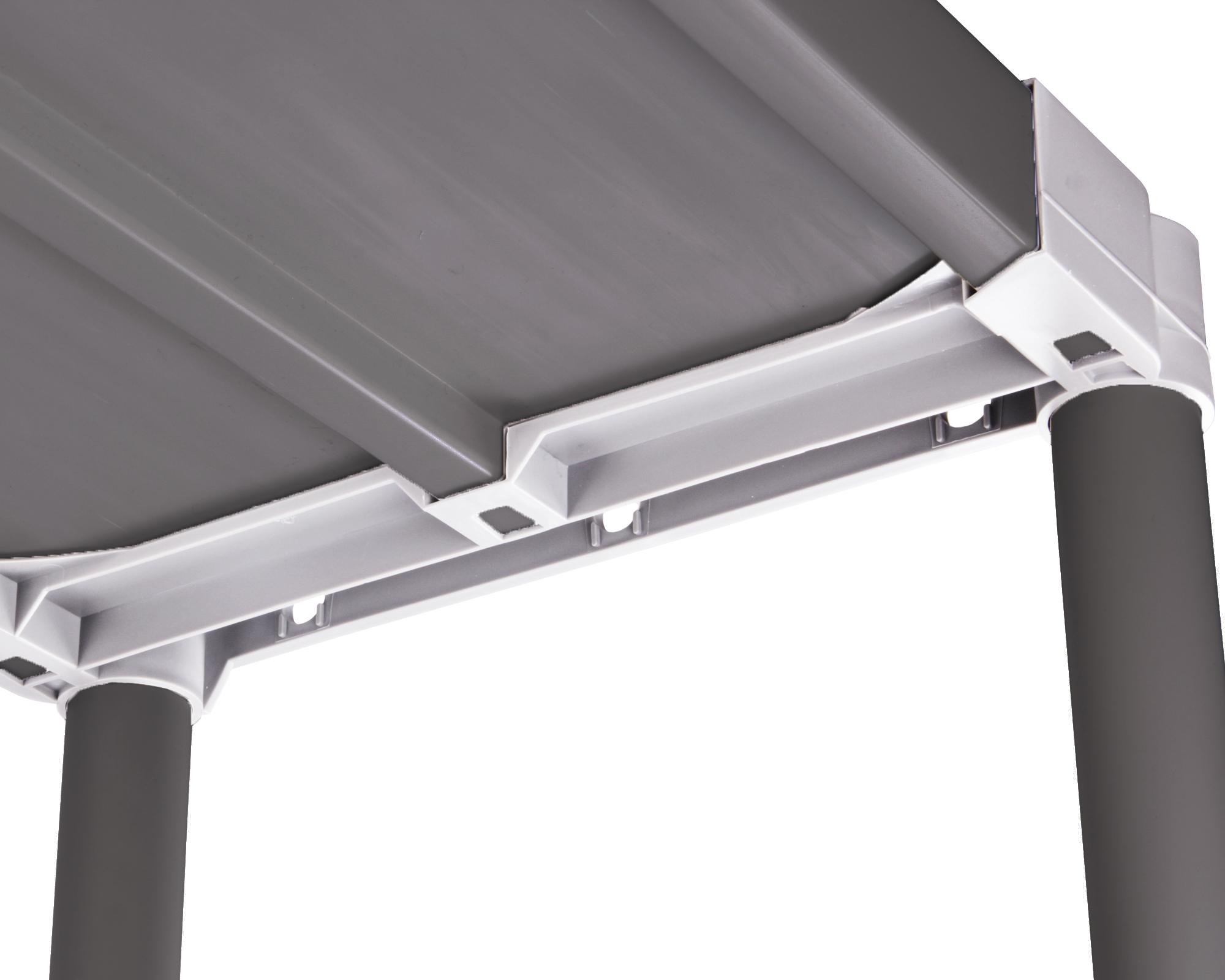 ondis24 schwerlastregal tin silver 80 5 b den g nstig online kaufen. Black Bedroom Furniture Sets. Home Design Ideas