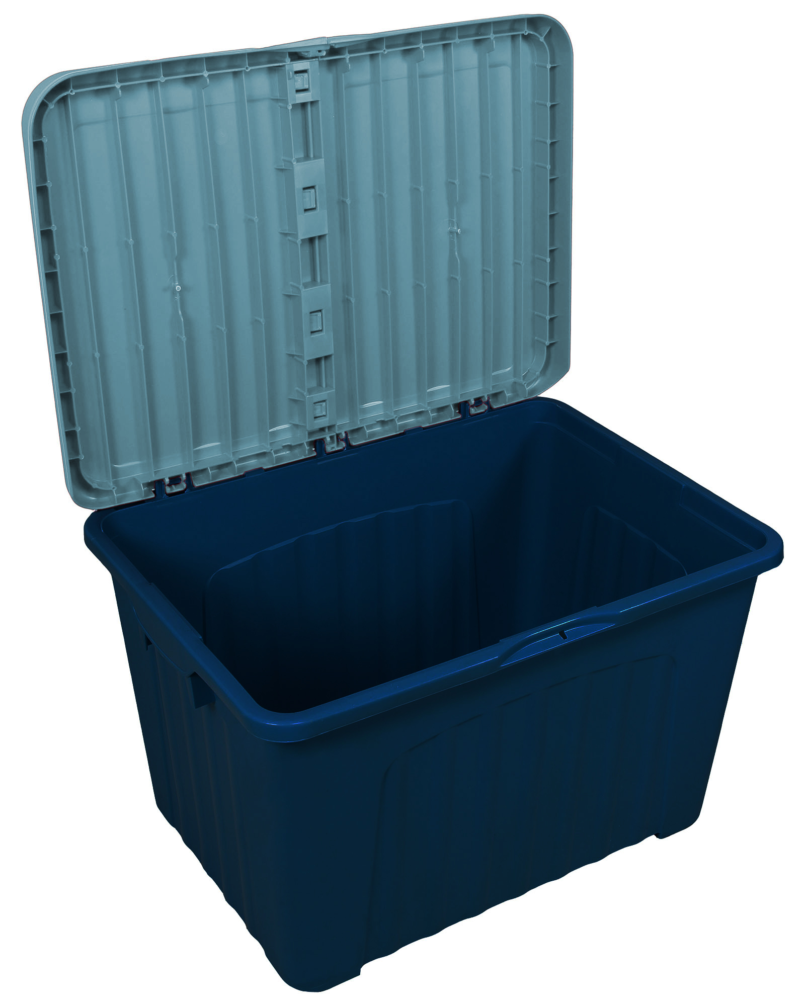 Kettler Gartenmobel Stapelsessel :  Lagerbox Transportbox Pandorino blaublau jetzt günstig kaufen