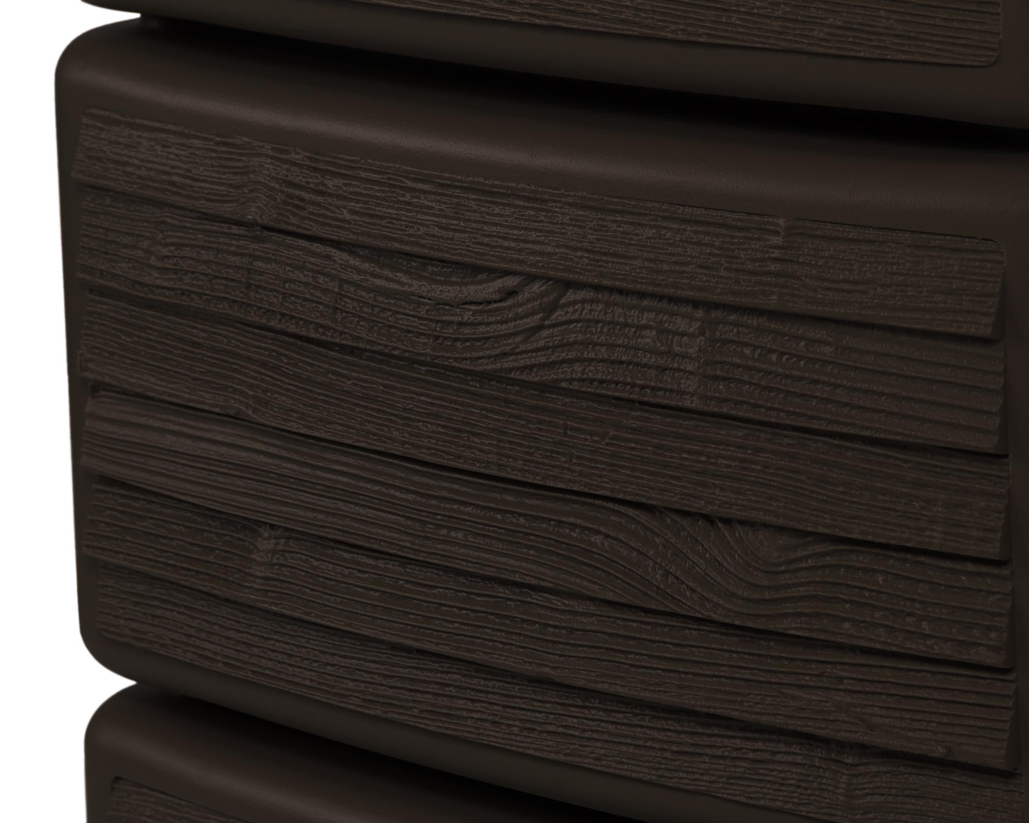 ondis24 regenwasser wandtank slim 300 l wood decor darkwood günstig