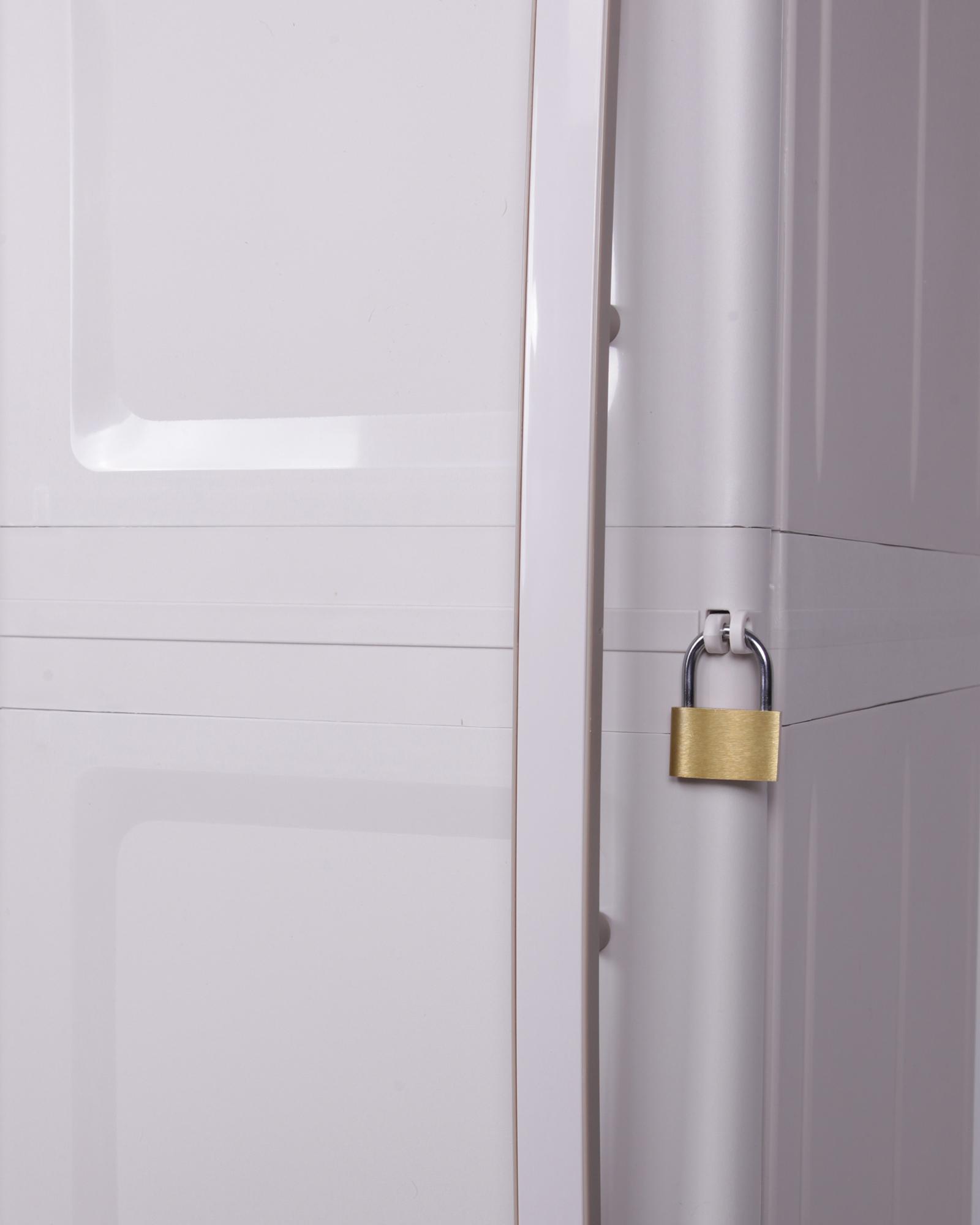 ondis24 kunststoffschrank nischenschrank excellent g nstig. Black Bedroom Furniture Sets. Home Design Ideas
