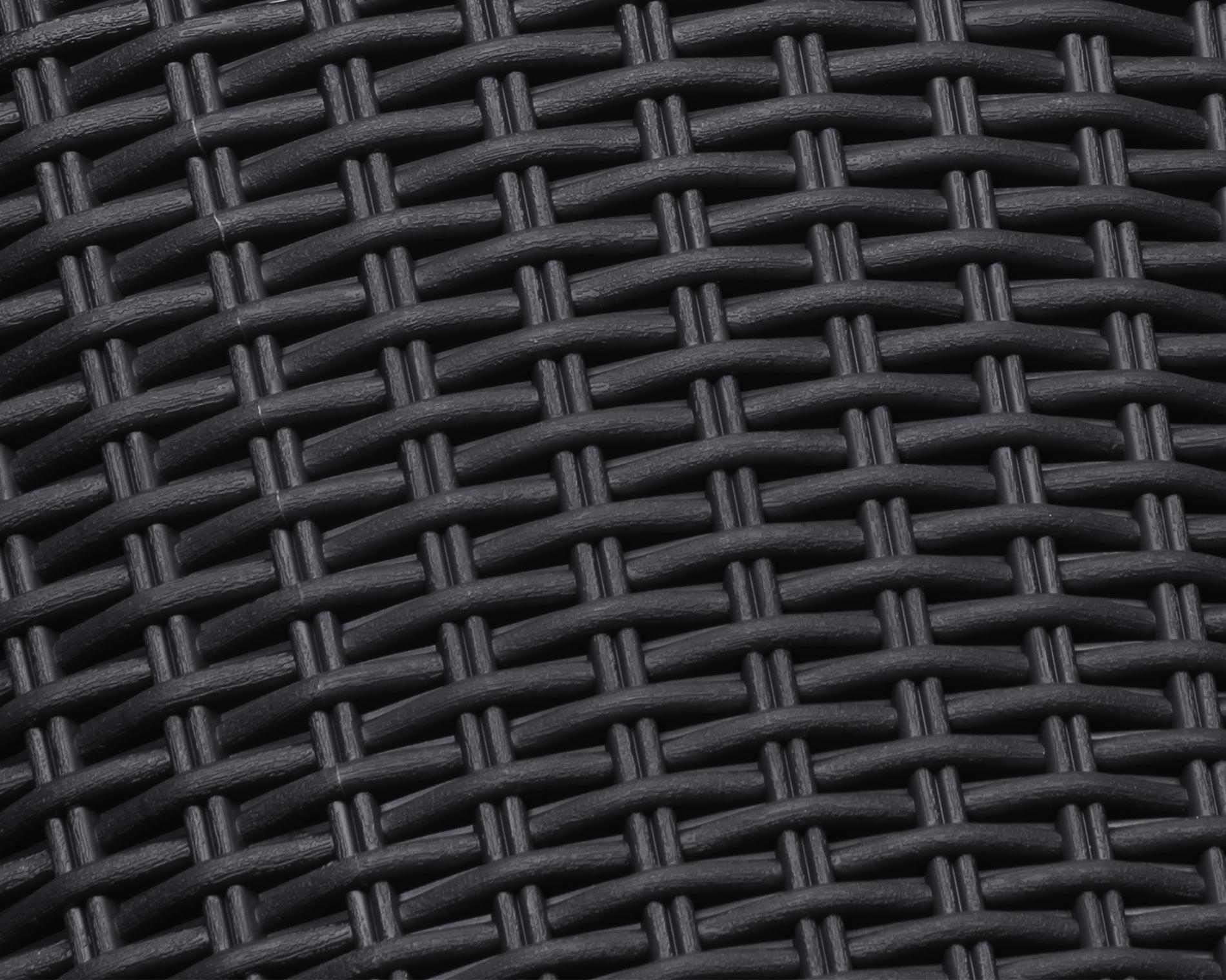 ondis24 rattan pflanzk bel konisch anthrazit g nstig online kaufen. Black Bedroom Furniture Sets. Home Design Ideas