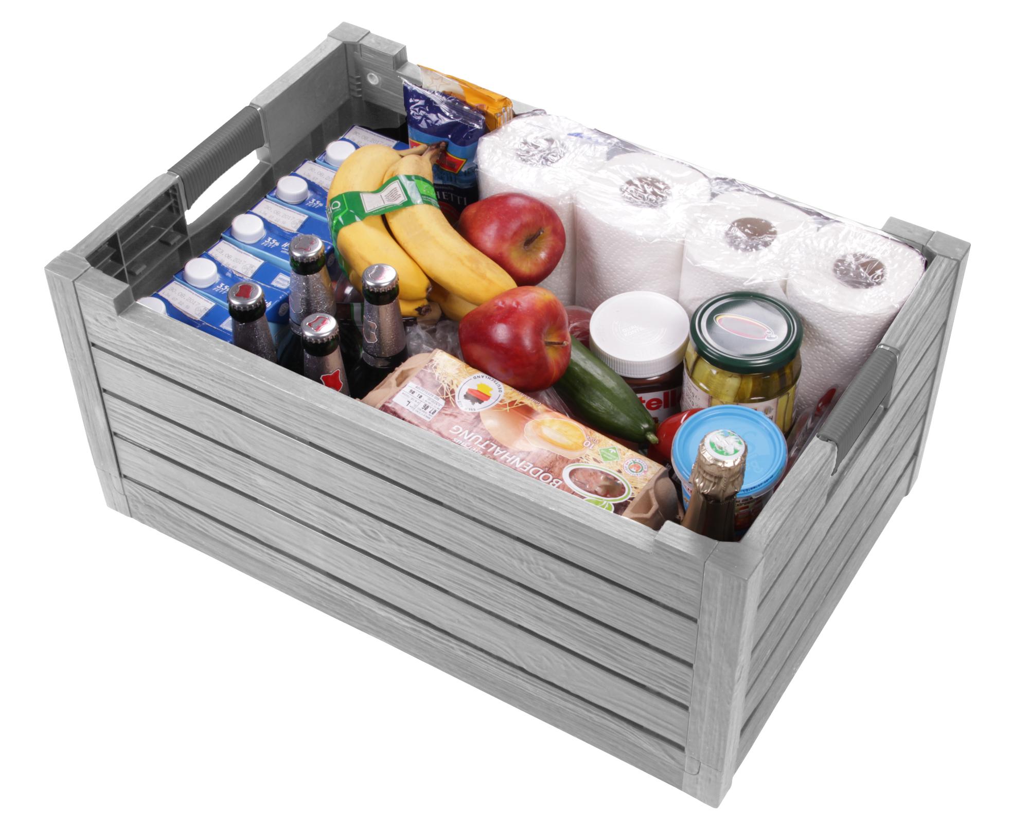 ondis24 klappbox faltbox transportkiste einkaufskorb. Black Bedroom Furniture Sets. Home Design Ideas